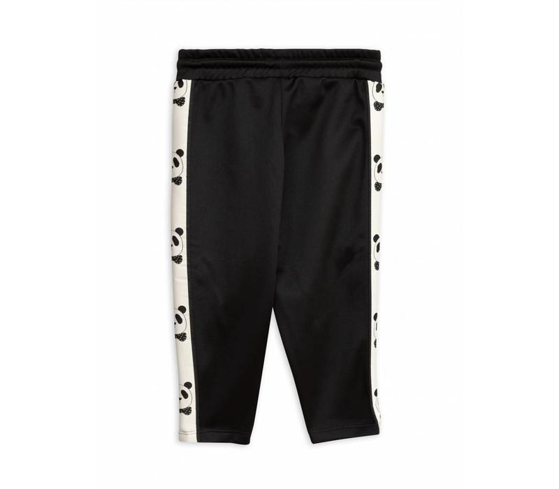 Mini Rodini panda pants black