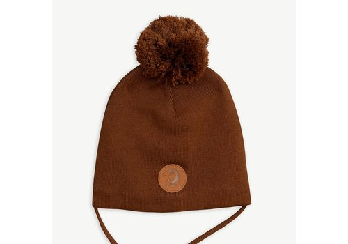 Mini Rodini Mini Rodini penguin hat brown