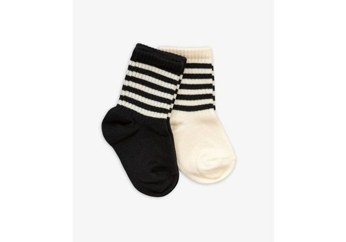 Mini Rodini Mini Rodini socks stripes 2 pack