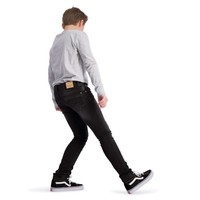 Boof jeans black light black