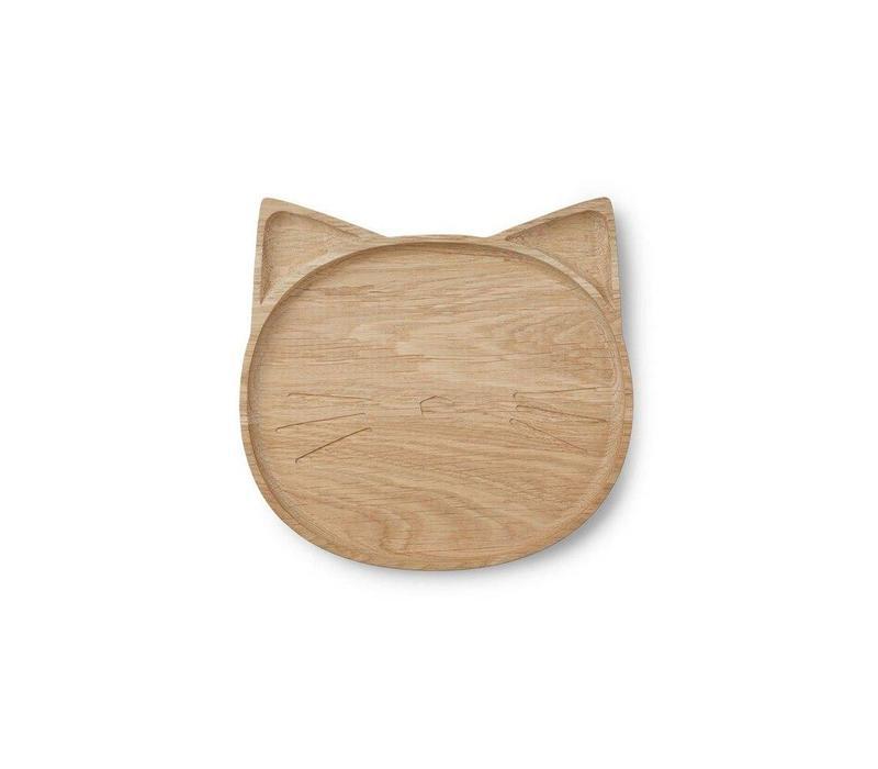 Liewood bordje cat natural