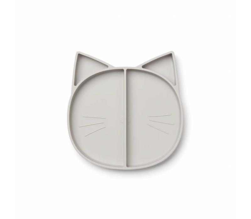 Liewood multi plate cat dumbo grey
