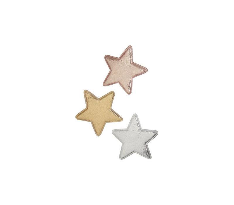 Mimi & Lula clips star metallic