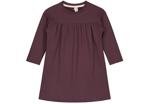 Gray label Gray Label pleated dress plum