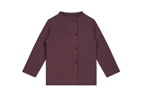 Gray label Gray Label button cardigan plum