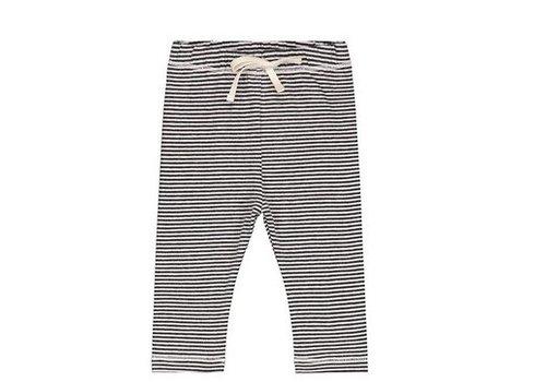 Gray label Gray label baby legging stripe black - cream