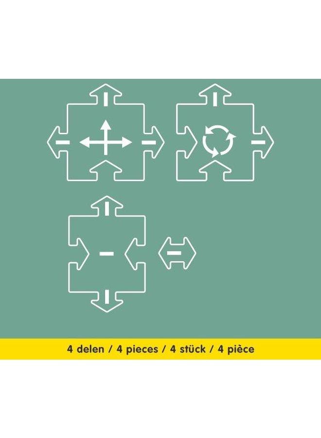 Way to play 2 stuks kruispunt