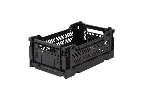 Ay-Kasa Ay-Kasa folding crate mini black