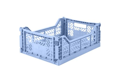 Ay-Kasa Ay-Kasa folding crate baby blue