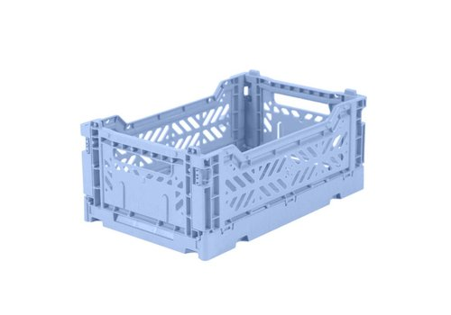 Ay-Kasa Ay-Kasa folding crate mini baby blue