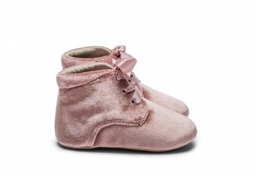 Mockies Mockies boots velvet pink