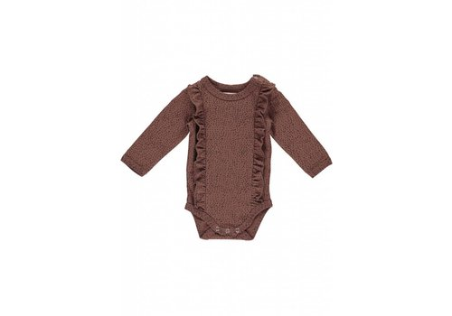 GRO Company Gro Company body flounces julia dark raspberry brown
