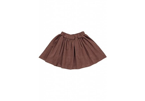 GRO Company Gro Company skirt ebru dark raspberry brown