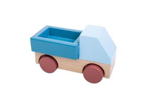 Sebra Sebra vrachtwagen blauw