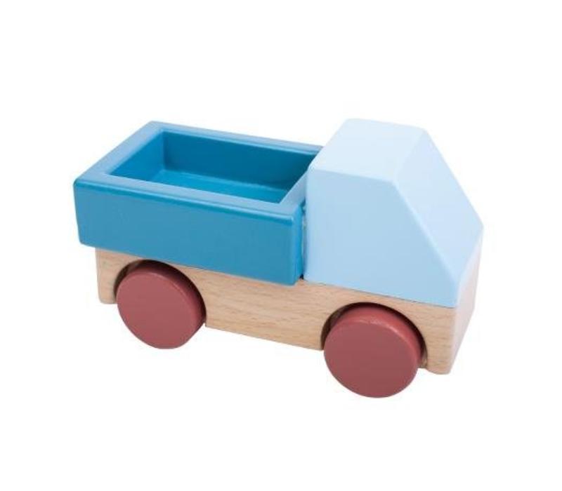 Sebra vrachtwagen blauw