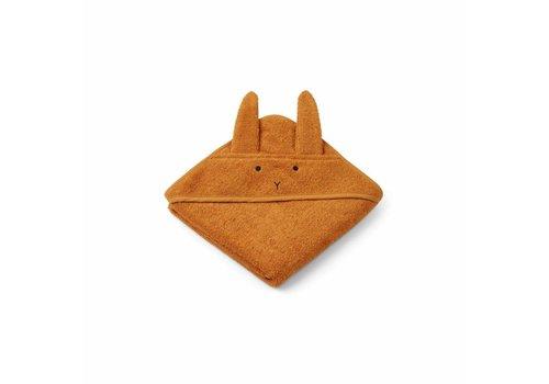 Liewood Liewood handdoek mustard konijn