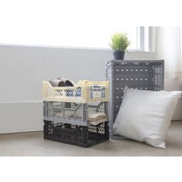 Ay-Kasa folding crate black