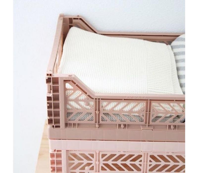 Ay-Kasa folding crate mini brown