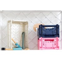 Ay-Kasa folding crate mini black