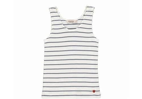 Mar Mar Copenhagen MarMar tank top tale stripes blue