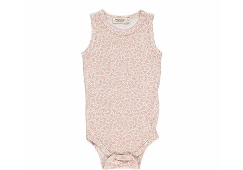 Mar Mar Copenhagen MarMar romper sleeveless dusty leo rose