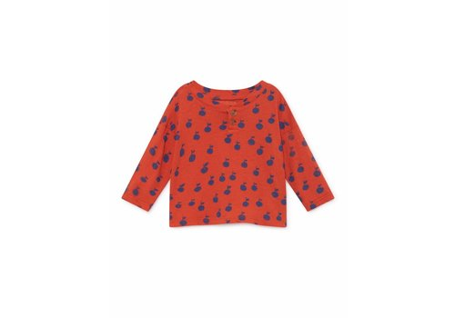 Bobo Choses Bobo Choses baby t-shirt apples buttons