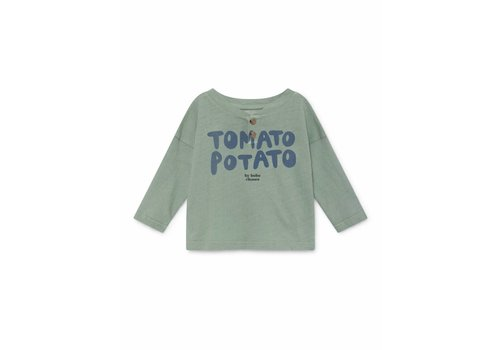 Bobo Choses Bobo Choses baby t-shirt tomato potato buttons