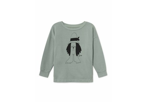 Bobo Choses Bobo Choses kids sweatshirt paul's mint