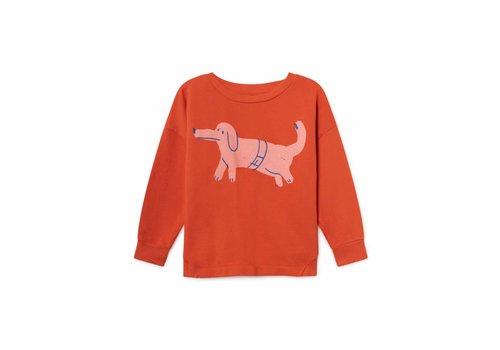 Bobo Choses Bobo Choses kids sweatshirt paul's dog red