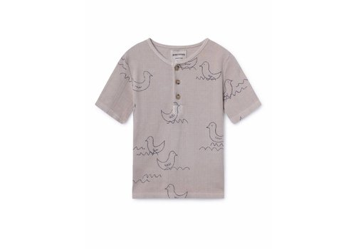 Bobo Choses Bobo Choses kids t-shirt geese buttons