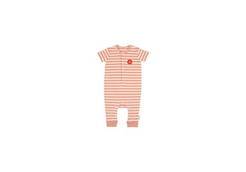 Tiny Cottons Tiny Cottons onepiece 1st prize cream-terracotta