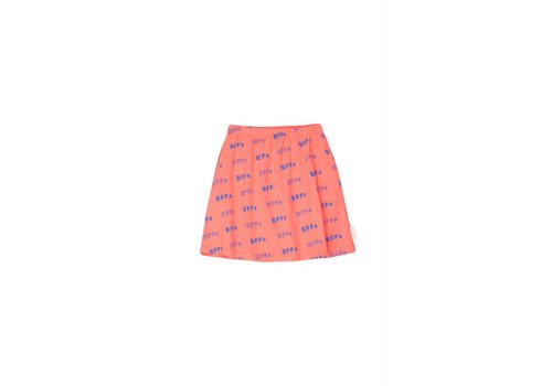 Tiny Cottons Tiny Cottons skirt bff's red-ultramarine