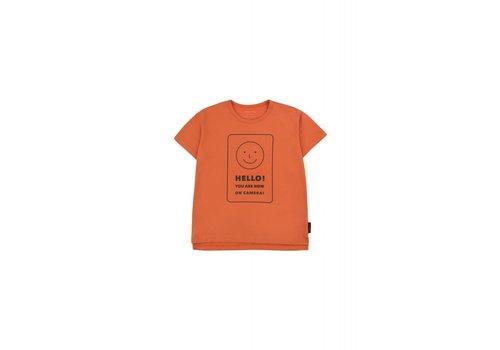 Tiny Cottons Tiny Cottons t-shirt hello sienna-navy