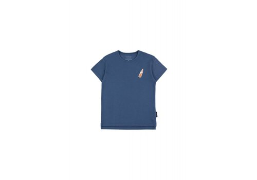 Tiny Cottons Tiny Cottons t-shirt soda bottle light navy-brown