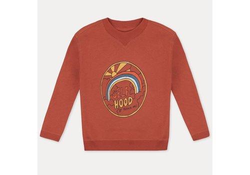 Repose Ams Repose ams classic sweater cozy stone brick