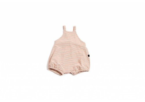 Monkind Monkind playsuit red stripe