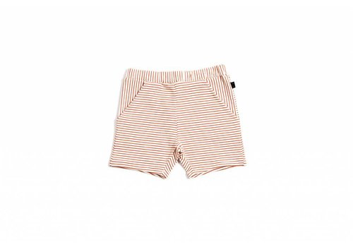 Monkind Monkind shorts red stripe