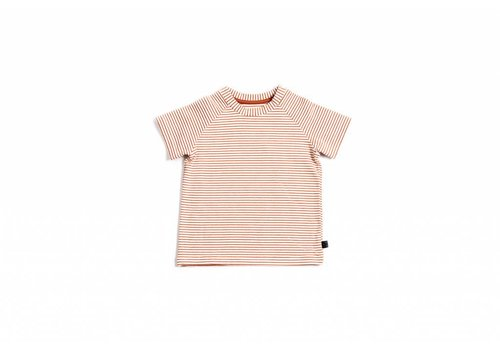 Monkind Monkind t-shirt red stripe