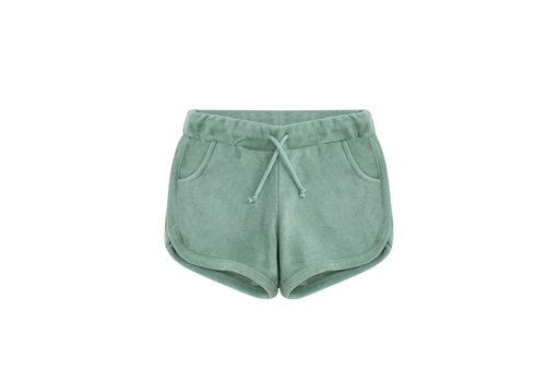 Mingo Mingo short terry sea green