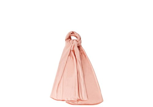 Mingo Mingo sjaal peach pink
