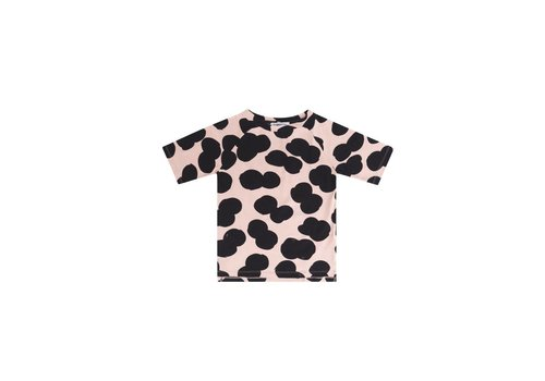 Mingo Mingo t-shirt double dot peach