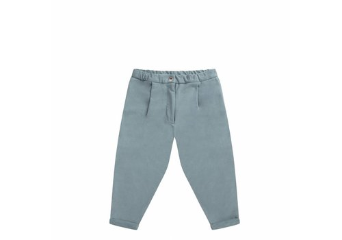Mingo Mingo cropped chino smoke blue