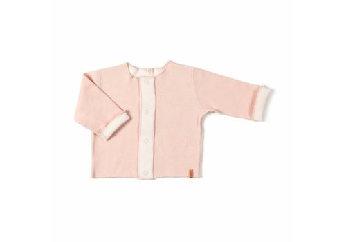 Nixnut Nixnut double vest old pink - off white