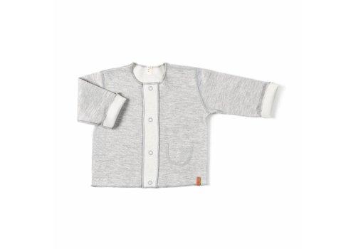 Nixnut Nixnut double vest grey - off white