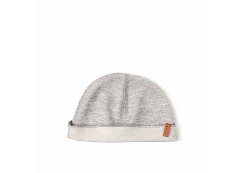 Nixnut Nixnut double hat grey - off white