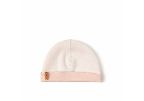 Nixnut Nixnut double hat white - pink
