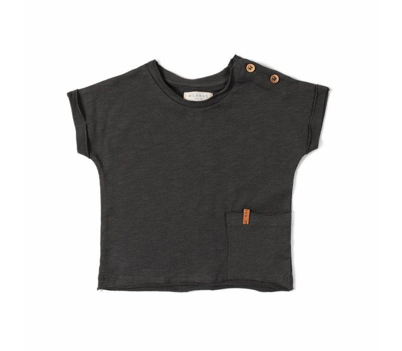 Nixnut t-shirt antracite