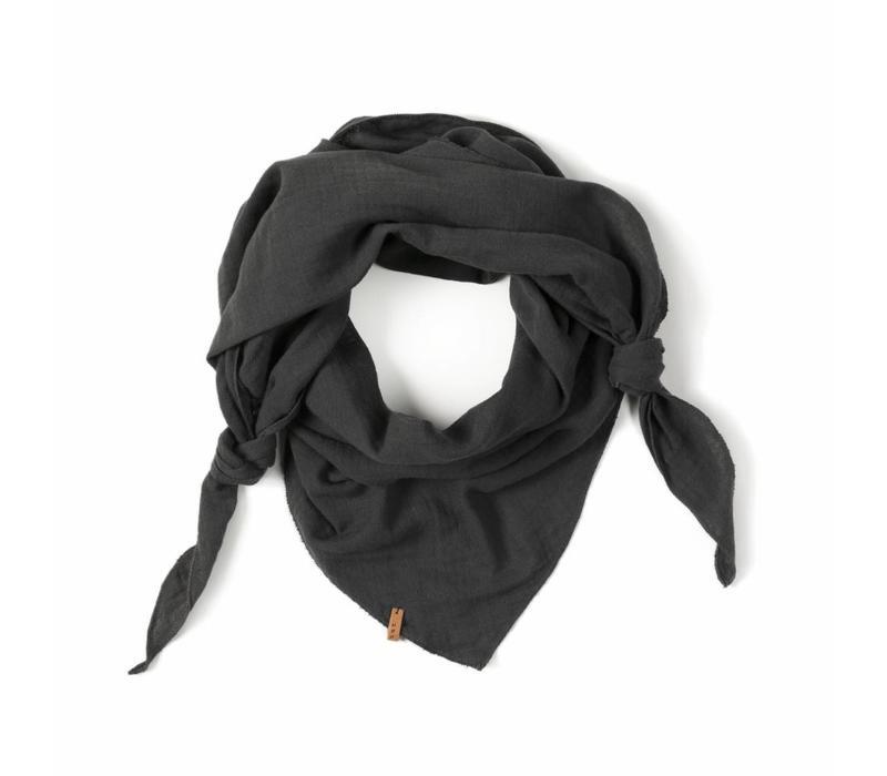 Nixnut triangle sjaal antracite