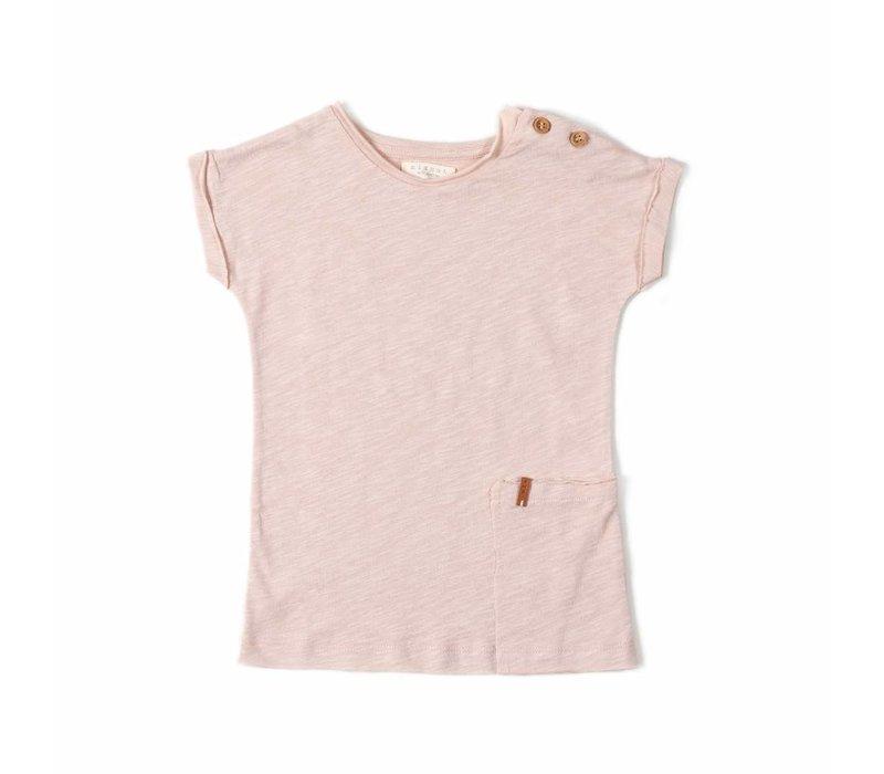 Nixnut t-shirt dress old pink