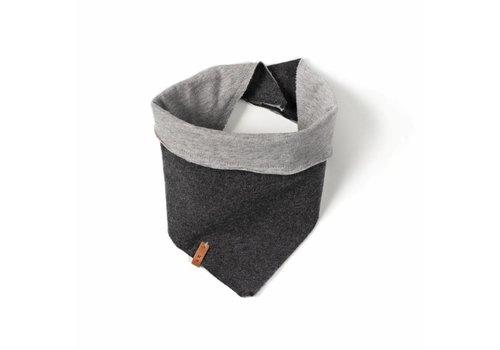 Nixnut Nixnut bandana bib grey - antracite